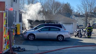ashland garage fire