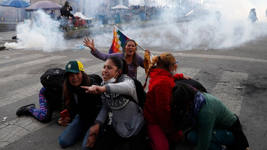 APTOPIX Bolivia Protests