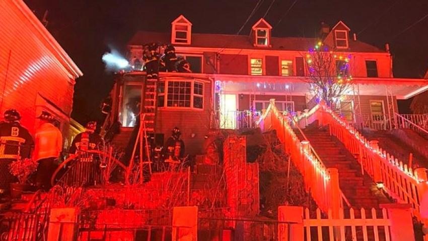 2-alarm fire east boston