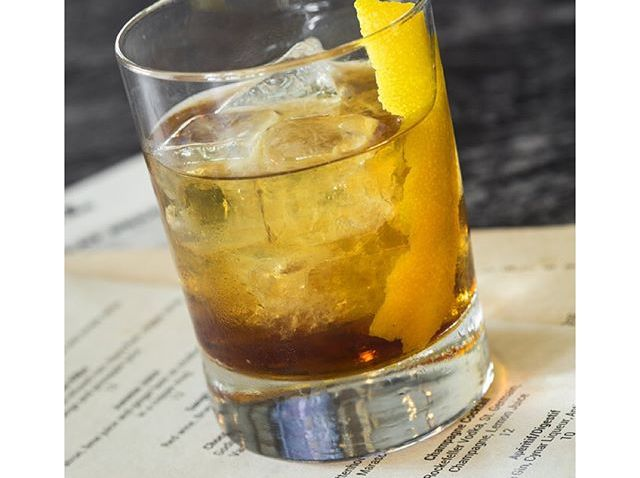 [phillygram] One of our favorites from our signature cocktail list: The Brooklyn Cocktail - Rittenhouse Rye, Nolly Pratt Dry Vermouth, Maraschino Liqueur & Averna Amaro #cheers#brickandbarrel#taphouse#mapleglenpa#cocktails#specialty#bourbonlovers#whi