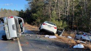 three car crash standish maine