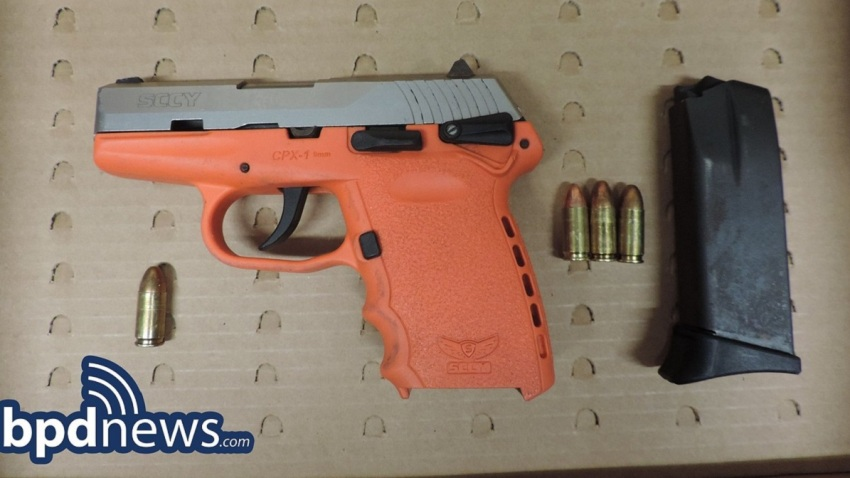 14 year old charged with carrying gun in boston