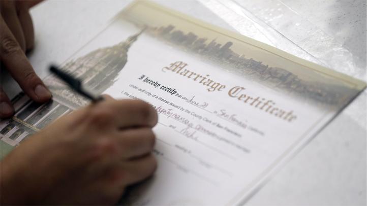 Marriage certificate generic