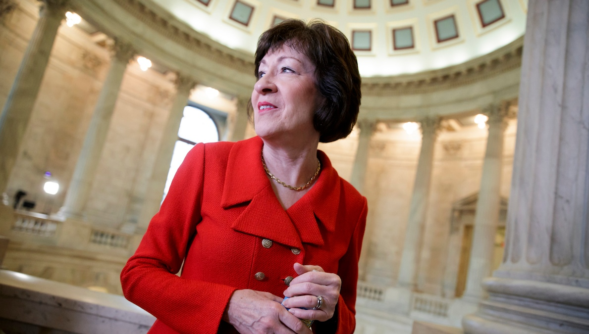 Poll Shows Tight Race for Susan Collins' Senate Seat