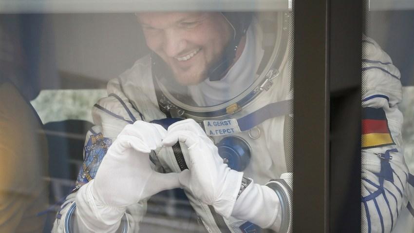 APTOPIX Kazakhstan Russia Space Station