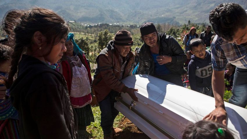 Guatemala US Dead Child