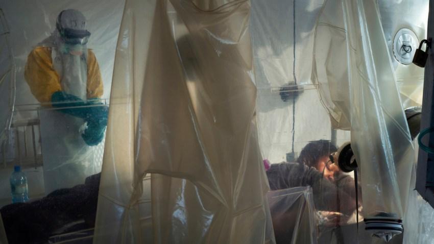 APTOPIX Congo Ebola Photo Essay