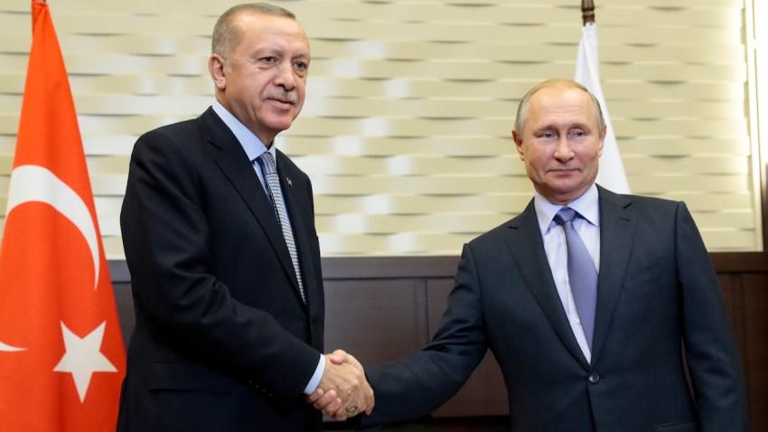 APTOPIX Russia Turkey Syria