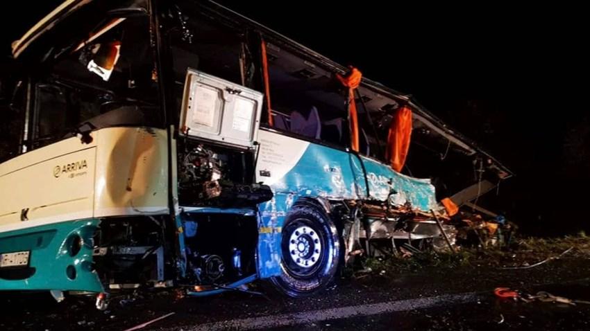 Slovakia Bus Crash