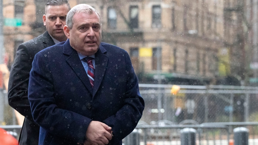 Lev Parnas, an associate of Rudy Giuliani with ties to Ukraine, arrives for a bail hearing in federal court, Dec. 17, 2019, in New York.