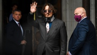 In Court, Depp Denies Violence During 'Tailspin' Marriage