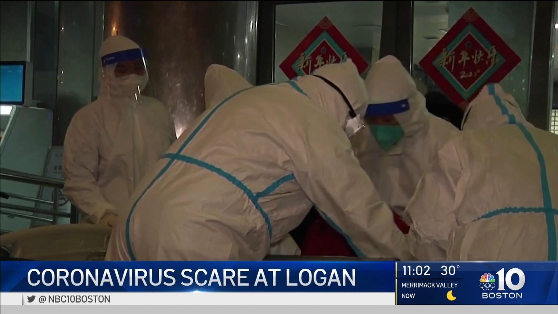 Coronavirus Scare at Logan – NBC Boston