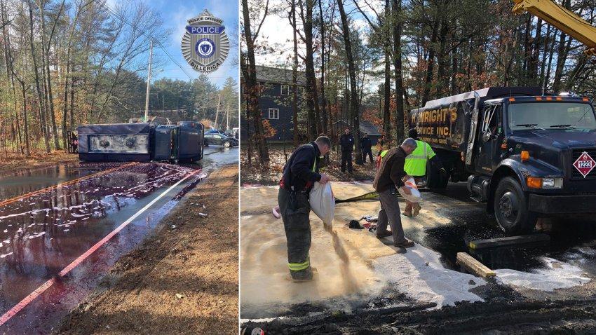 Billerica truck crash