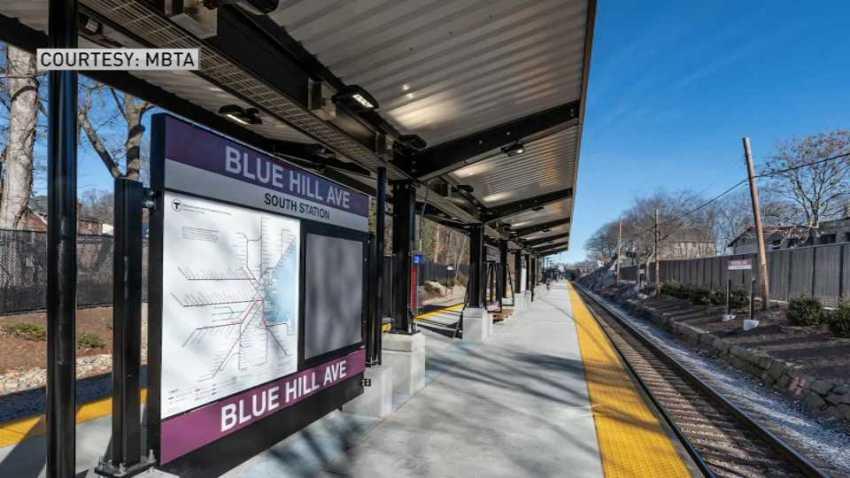 Blue Hill Avenue Commuter Rail stop 2