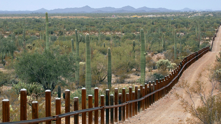 Border Wall Arizona
