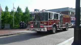 Brockton fire truck