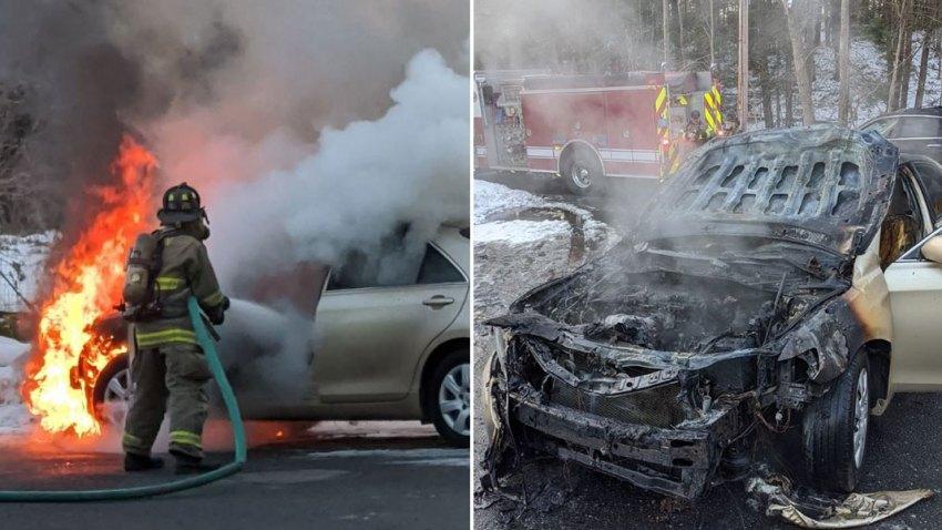 Acton Car Fire
