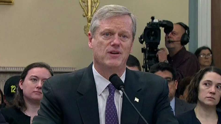 Charlie Baker testifying before House Natural Resources Committee 02062019