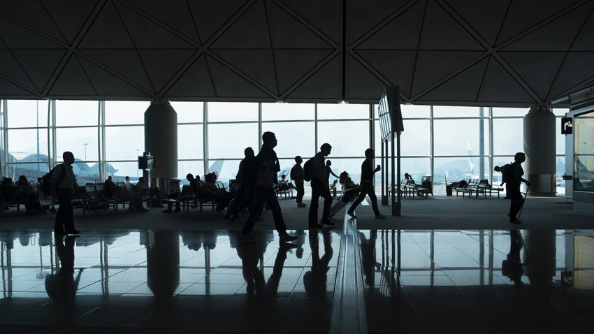 A file photo of an airport.