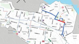 somerville shared street map