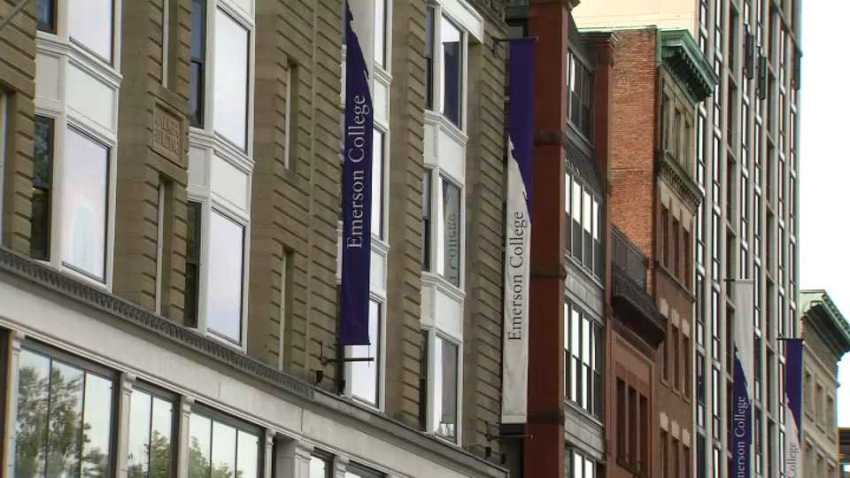 Emerson College sign