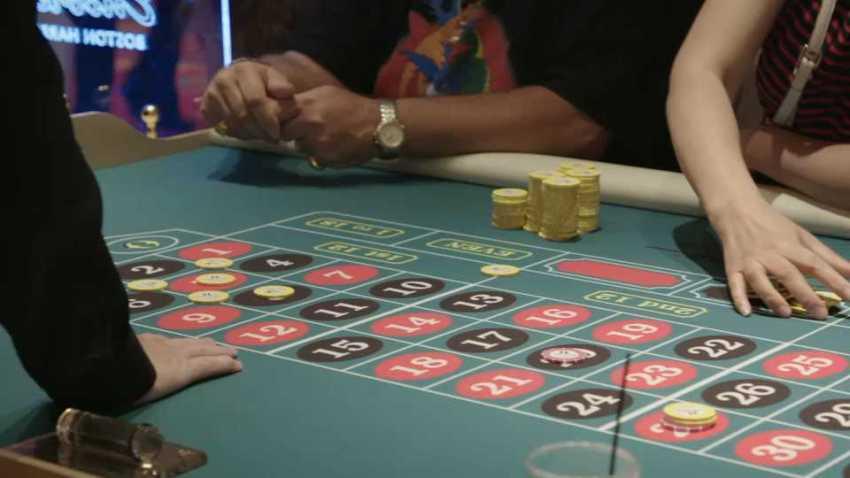 Encore Boston Harbor table game