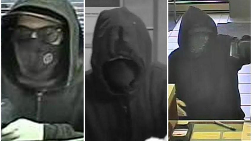 FBI Faceless Bandit collage