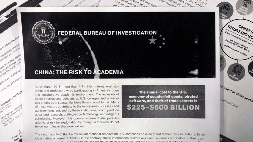 FBI China American Universities