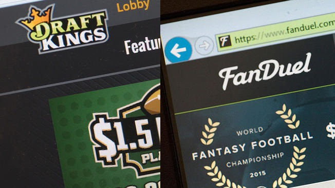 FanDuel DraftKings Getty Images