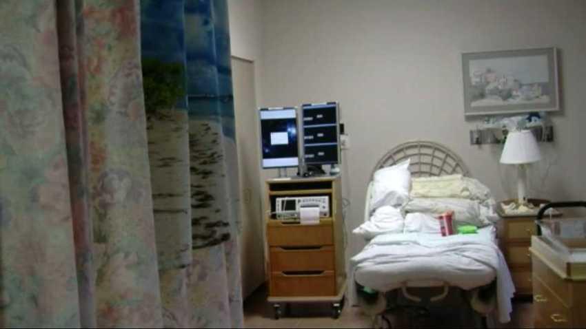 File nursing home room