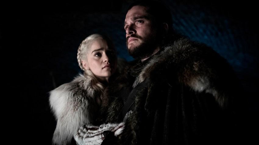 Game of Thrones Dany Jon Snow