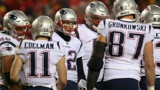 Brady Edelman Gronkowski and other Patriots