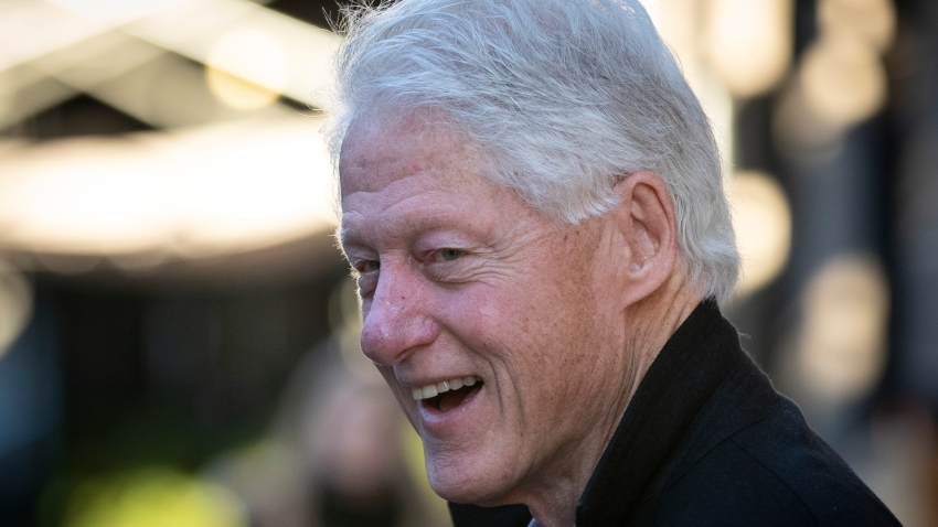 Former President Bill Clinton at the 100th annual Veterans Day Parade, in New York City, on Nov. 11, 2019.