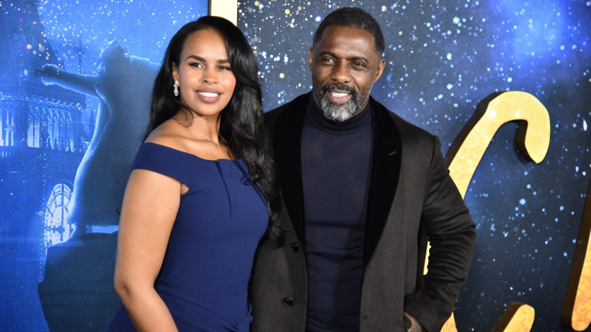 Sabrina Dhowre Elba and Idris Elba
