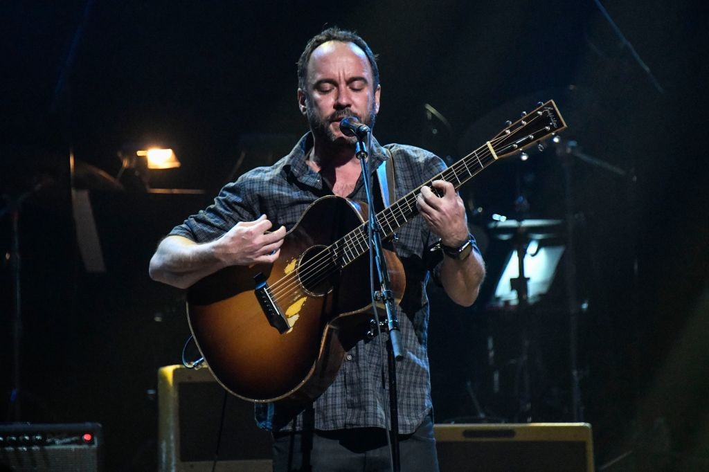 Dave Matthews performs during the 4th Annual Love Rocks Benefit Concert at the Beacon Theatre on March 12, 2020 in New York City.