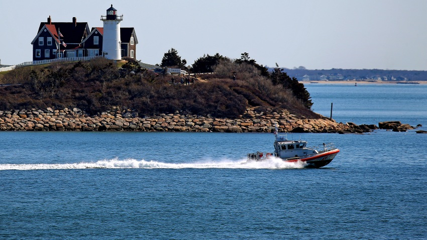 Coast Guard vessel off Cape Cod