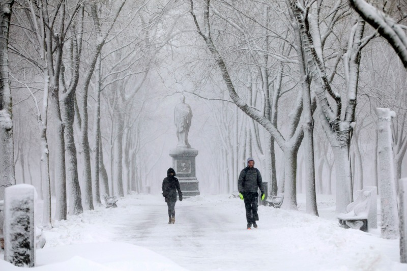 Hour-by-Hour Timeline of New England's 1st Widespread Snowfall of the Season