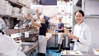 Joanne Chang kitchen