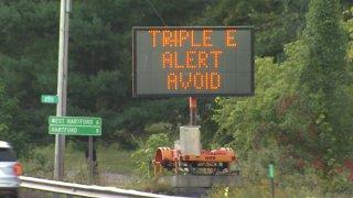 Highway EEE Alert Signs