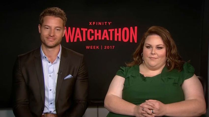 Justin Hartley and Chrissy Metz intv