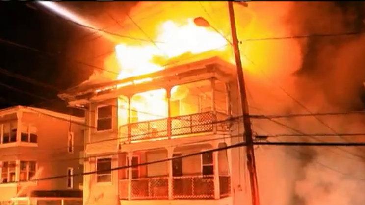 Leomister Fire West Street