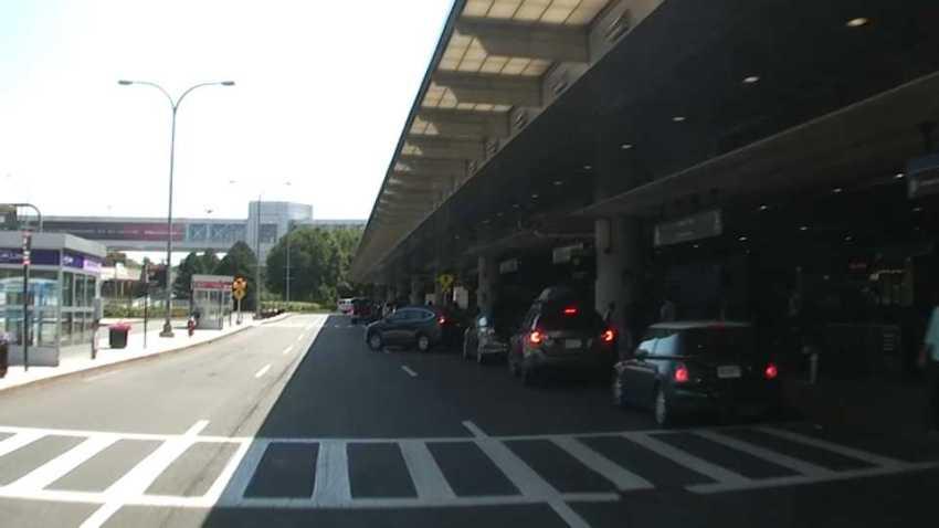 Logan Airport curbside