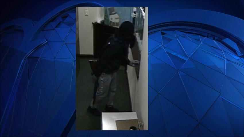 Masked Bank NH Robber
