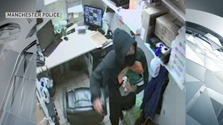 Manchester NH Dunkin Donuts Thief