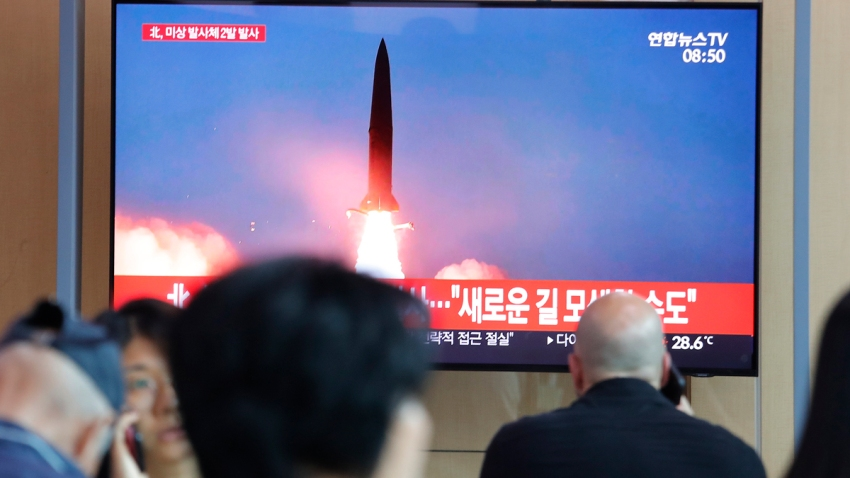 South Korea North Korea Projectiles