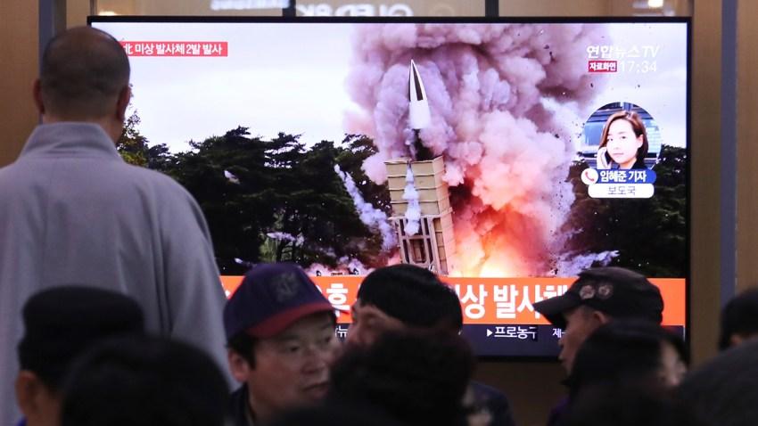 South Korea Koreas Projectile