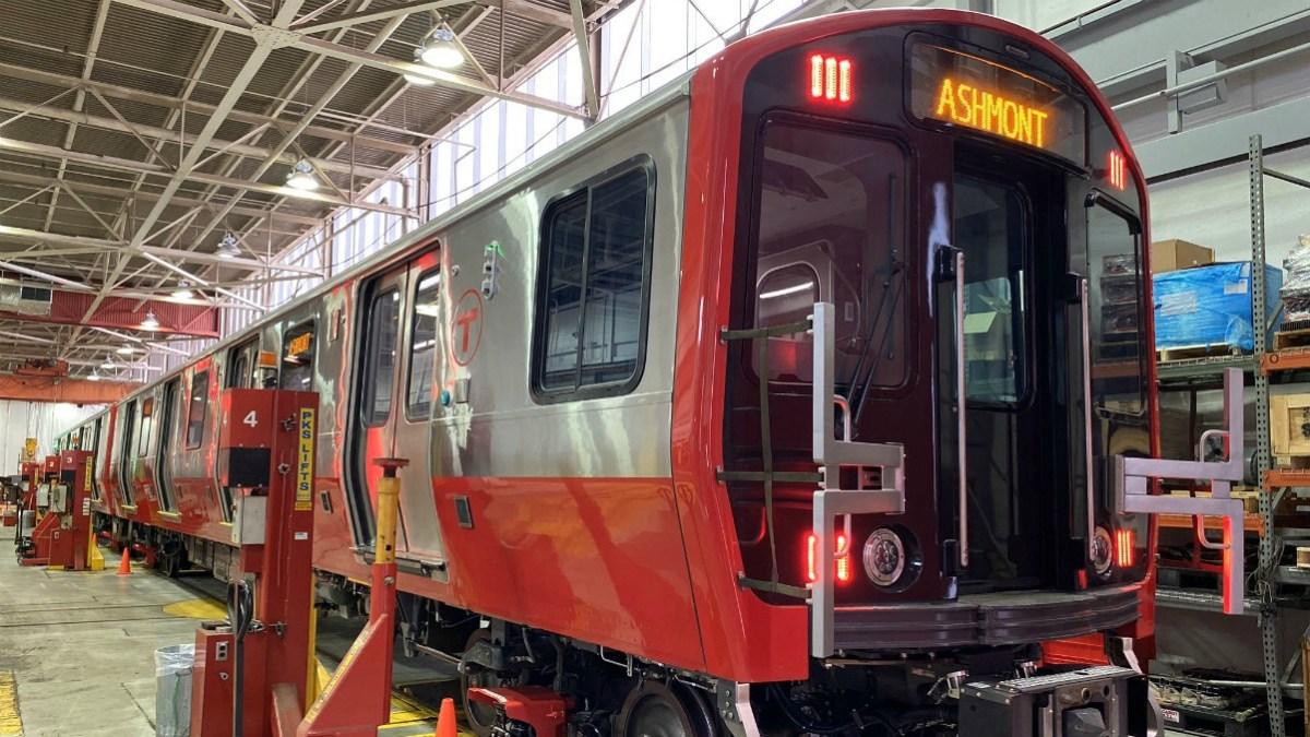 Used Cars Online >> MBTA Unveils New Red Line Cars – NBC Boston