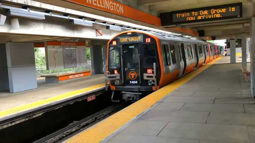 New Orange Line Train