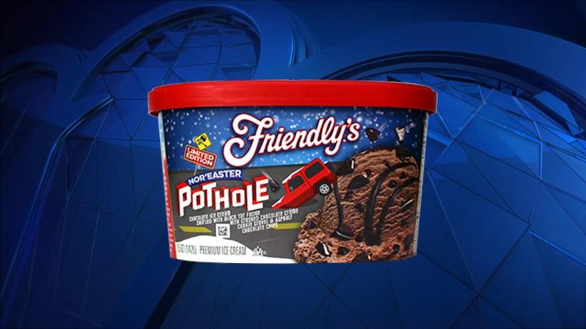 Nor Easter Pothole ice cream