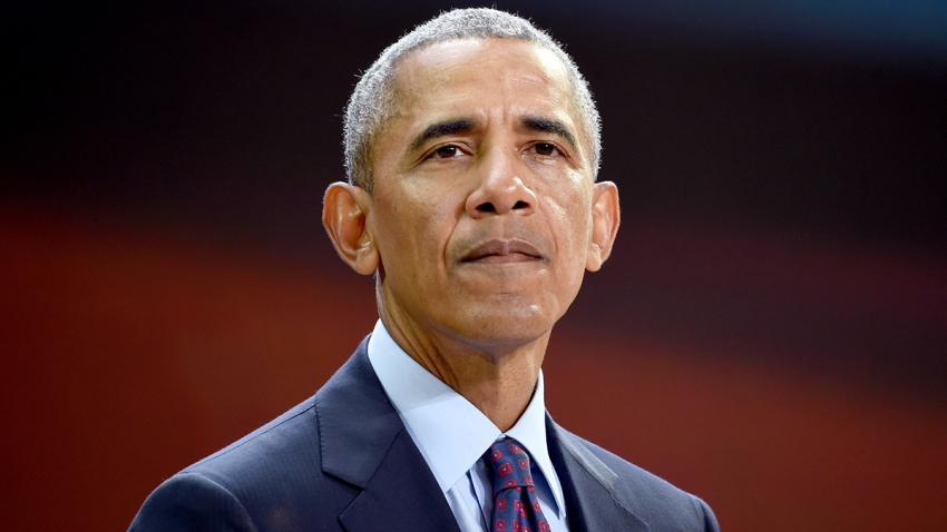 In this file photo, Former President Barack Obama speaks at Goalkeepers 2017, at Jazz at Lincoln Center on September 20, 2017 in New York City.
